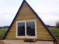 "The ""Tipi"", a cozy A-frame cottage in Belgium. 