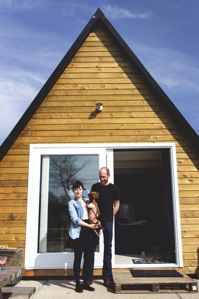 """The """"Tipi"""", a cozy A-frame cottage 