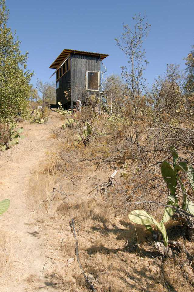 """A small cabin in Chile designed as """"a place to eat, sleep and read for two"""" and built for just $15,000. The studio cabin has a 161 sq ft footprint.   www.facebook.com/SmallHouseBliss"""