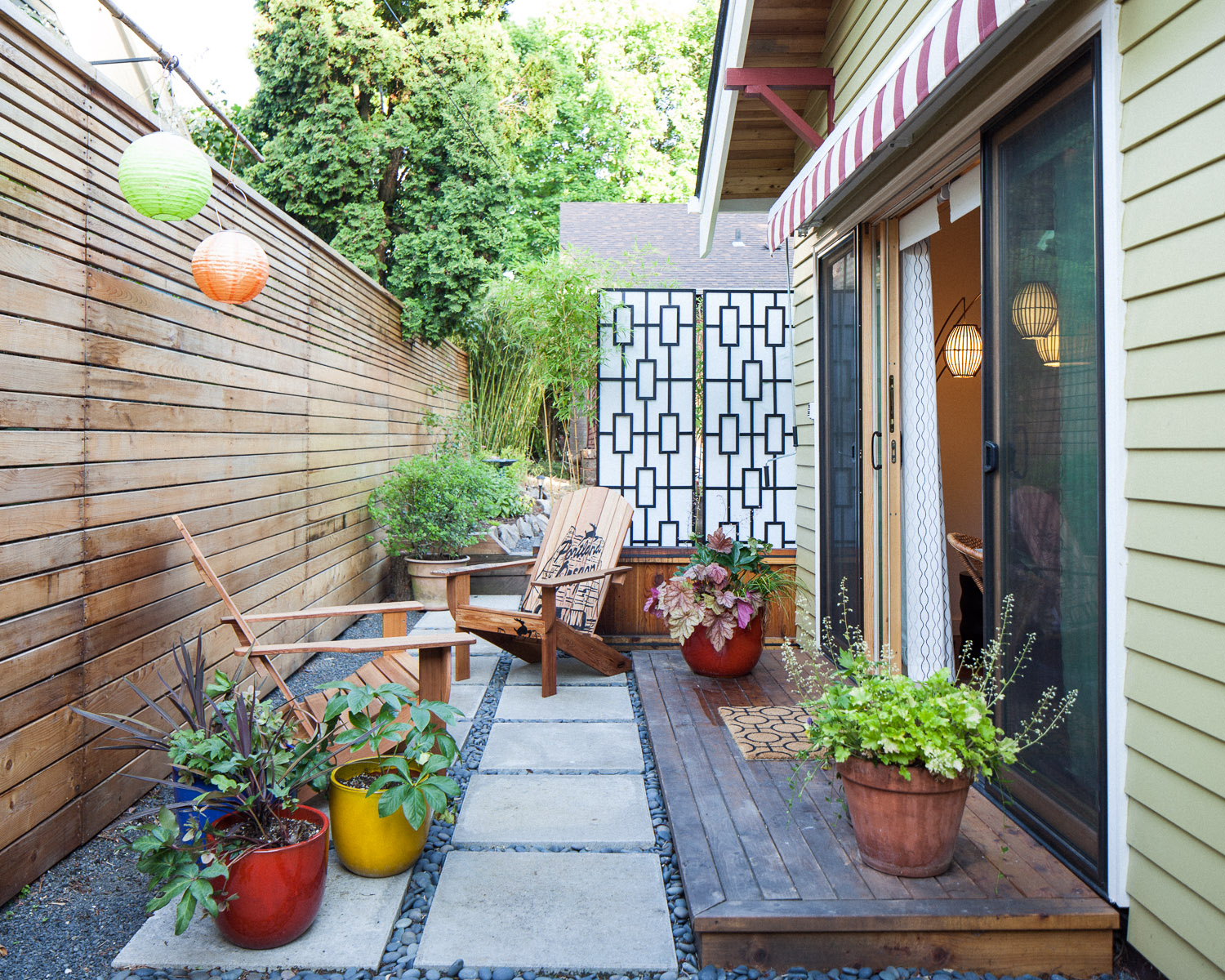 PDX Eco Cottage, A Sustainably Built Craftsman Style Backyard Cottage With  Mid Century