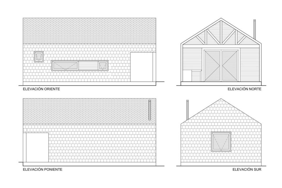 """""""Casa Bote"""" is a dual-use structure, serving as a cabin in the summer and a boat storage shed over the winter.   www.facebook.com/SmallHouseBliss"""