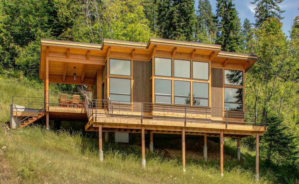 House as well Small Timber Frame Cabins additionally Cabin Floor Plans ...