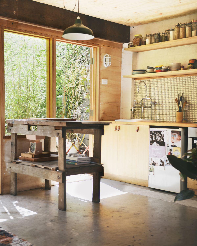 Converted Garage Apartment - Interior Design