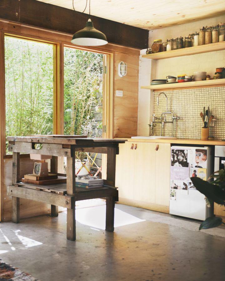Garage Studio Apartment Conversion studio living in a converted garage | hearth studio | small house