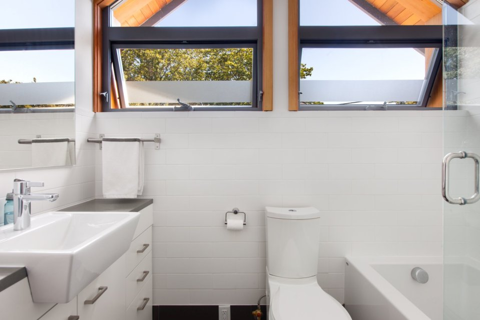 With 2 bedrooms in 800 sq ft, this energy-efficient laneway house is a good size for the young family that lives there. | www.facebook.com/SmallHouseBliss