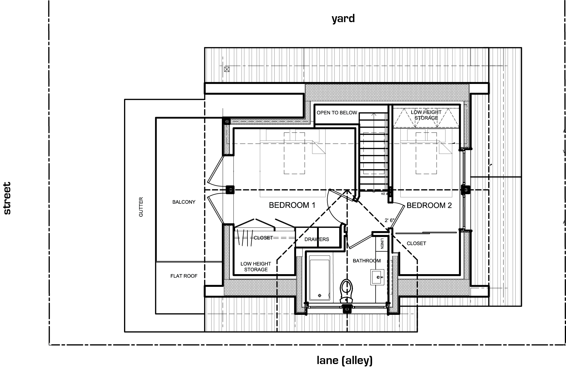 Gallery a laneway house for a young family lanefab for Small family house plans