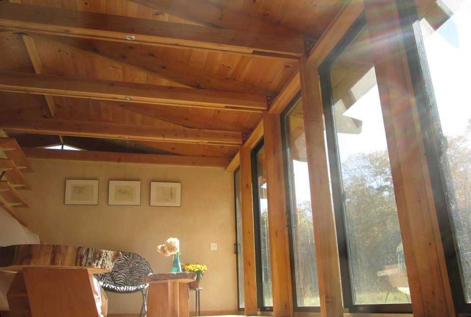 Noble Home produces eco-friendly kit houses designed for the owner-builder. This one has 3 bedrooms in 1,300 sq ft. | www.facebook.com/SmallHouseBliss