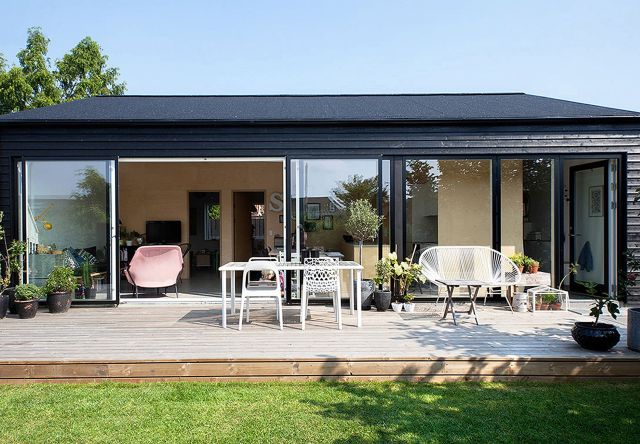 This small family house in Copenhagen has an economical design providing 3  bedrooms in 861 sq