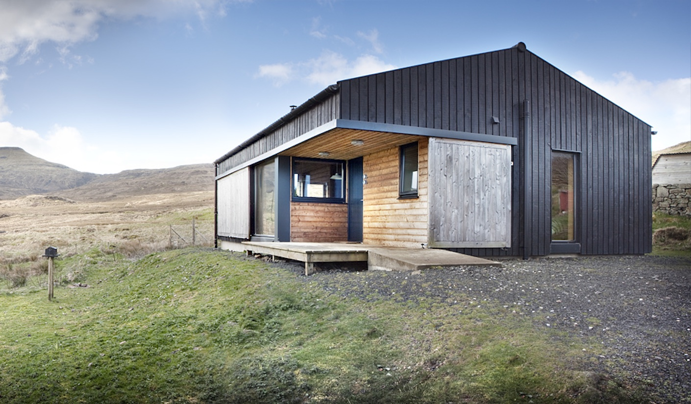 The black shed rural design architects small house bliss for Architecture design of house small