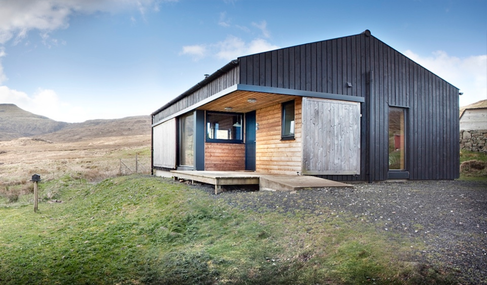 The black shed a simple farm cottage on the isle of skye inspired by