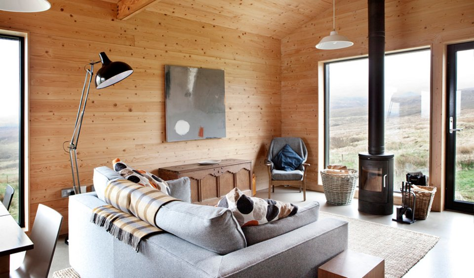 The Black Shed A Simple Farm Cottage On Isle Of Skye Inspired By