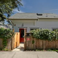 This charming laneway cottage has two bedrooms in 675 sq ft. | www.facebook.com/SmallHouseBliss