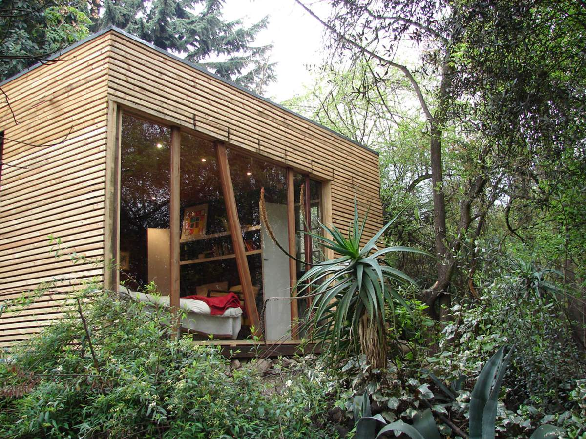 A Modern Hermit S Cabin Parra Edwards Small House