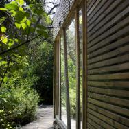 """This modern """"hermit's cabin"""" in Chile has a 215 sq ft studio floor plan.   www.facebook.com/SmallHouseBliss"""