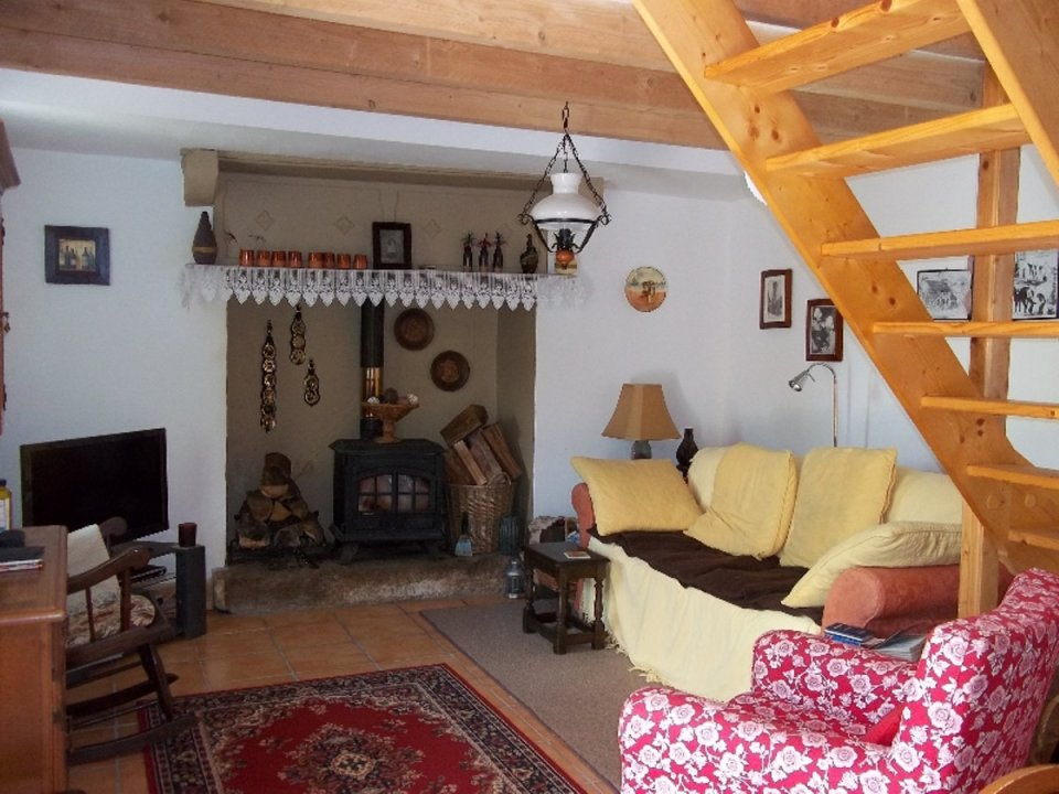 This quaint stone cottage is located in a small hamlet in Brittany, France.   www.facebook.com/SmallHouseBliss