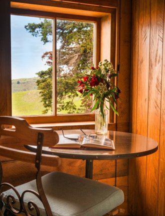 The Shepherd's Cottage, a restored century-old one bedroom farmhouse on a New Zealand farm. | www.facebook.com/SmallHouseBliss