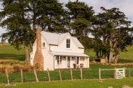 The Shepherd's Cottage, a restored century-old one bedroom farmhouse on a New Zealand farm. | www.facebook.com/SmallHouseBliss