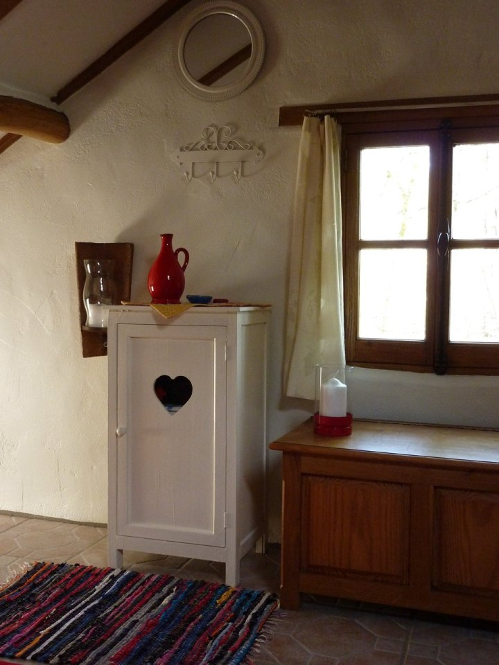The tiny off-grid Woodsman's Cabin in France, built with rustic charm by the owners. | www.facebook.com/SmallHouseBliss