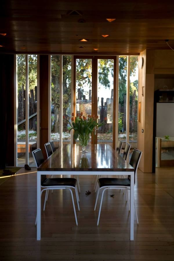 An architect designed and built this home for his own family of six. It has two bedrooms (one a large bunkroom) in 1,240 sq ft. | www.facebook.com/SmallHouseBliss