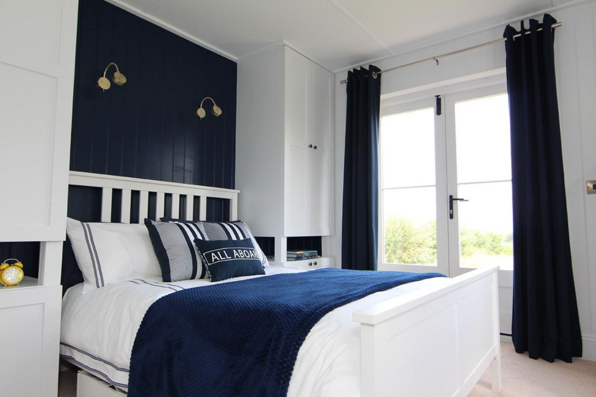 A Small Traditionally Styled Scottish House By Modular Builder The Wee House  Company. This. The Bedroom ...