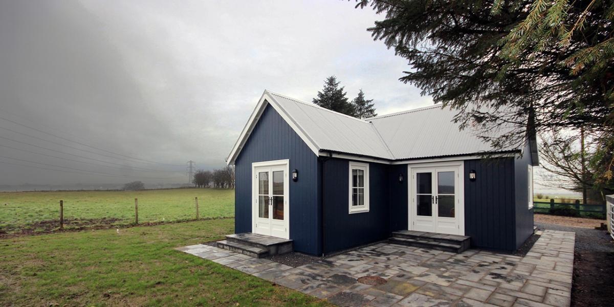 a small traditionally styled scottish house by modular builder the wee house company this - Prefab Tiny House