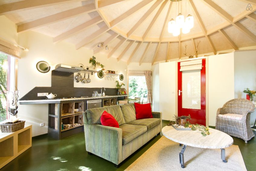 Gallery A Yurt Like Tiny Cottage In The Woods Small House Bliss