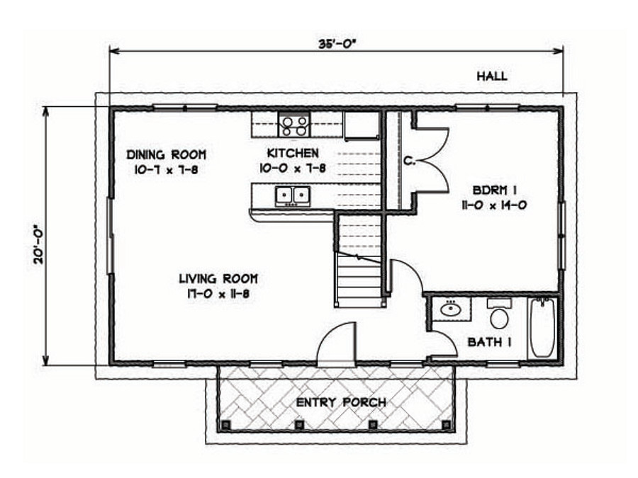 gallery katrina cottage gmf associates - Katrina Cottage Plans