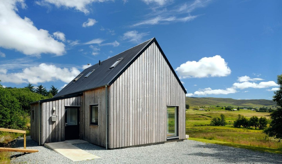 Gallery r house a prefab home for rural scotland rural for Home designs rural