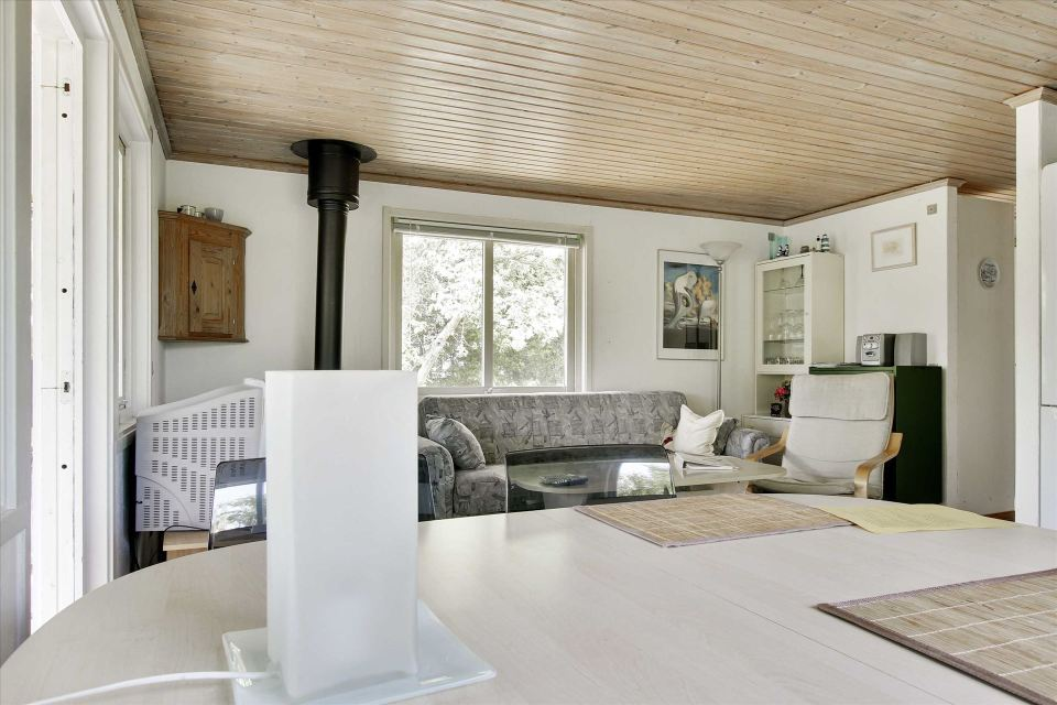 This little cottage in Denmark has two bedrooms in 495 sq ft. | www.facebook.com/SmallHouseBliss