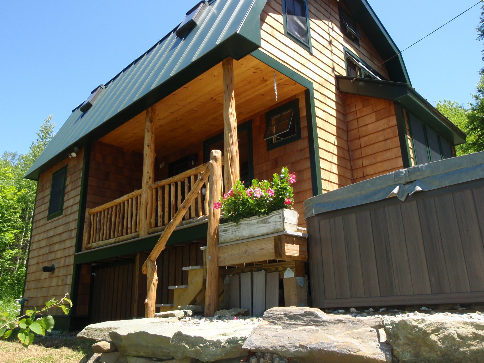 with cabins videos vermont homes elk city acreage search log idaho sale for cabin pictures in