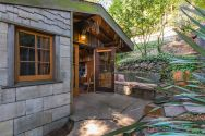 """The """"Cubby"""", designed by architect Bernard Maybeck, started out as a garage and was later expanded into an eclectic 724 sq ft cottage with one bedroom. 