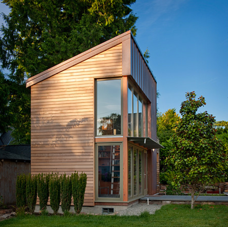 Gallery garden pavilion gary shoemaker and ninebark for Small guest house ideas