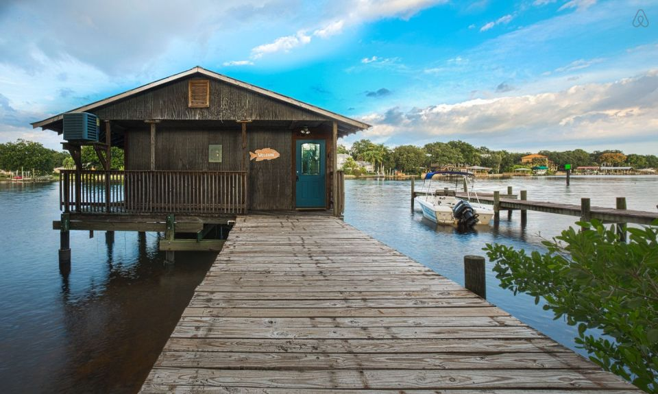 Hillsborough River Dock House Small House Bliss