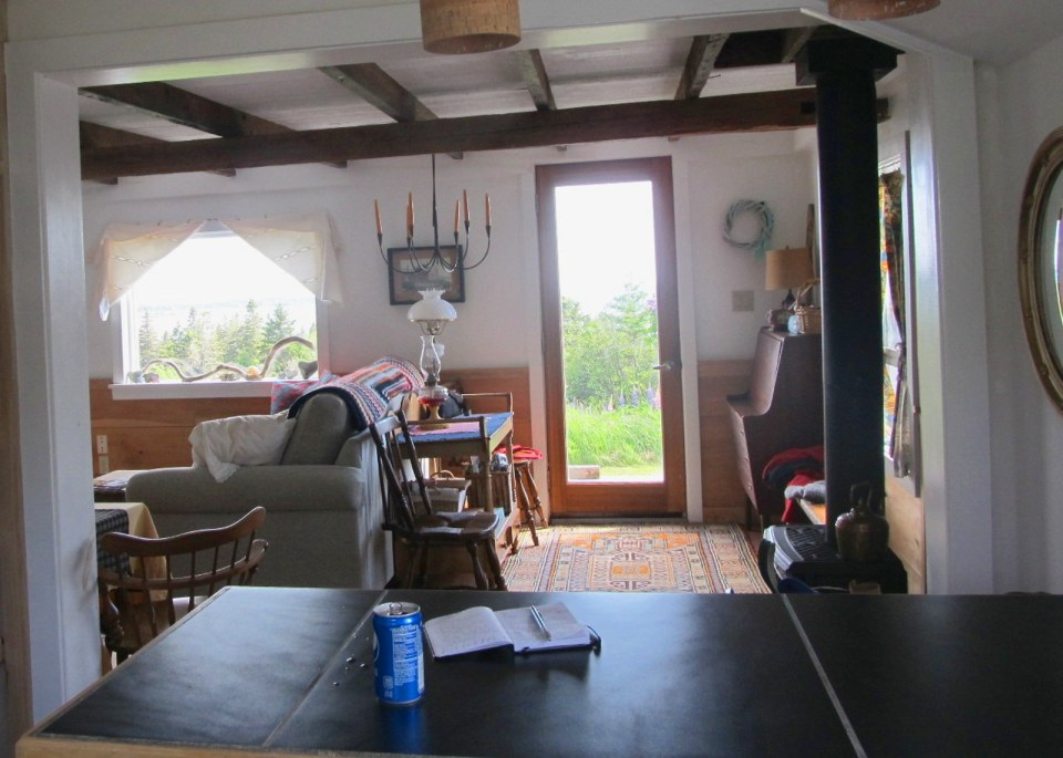A vernacular coastal cottage on Grand Manan Island, New Brunswick. | www.facebook.com/SmallHouseBliss