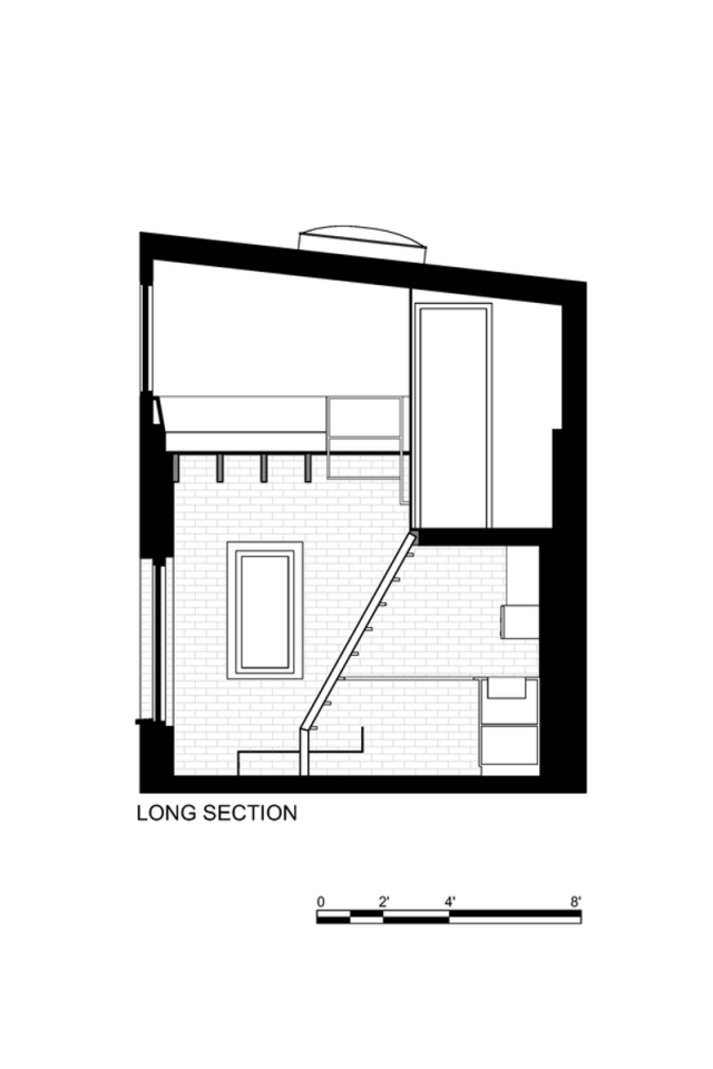 Gallery the brick house guest suite azevedo design for Self contained house plans