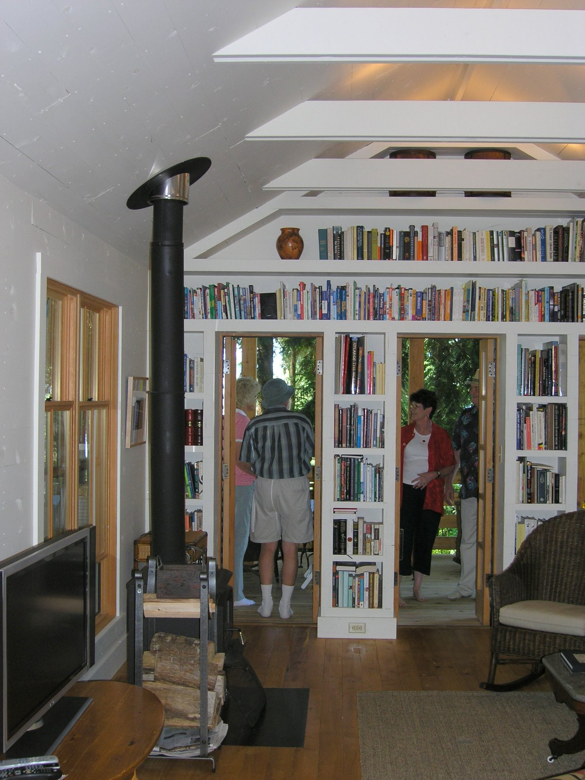 A small house compound on whidbey island small house bliss for Whidbey tiny house