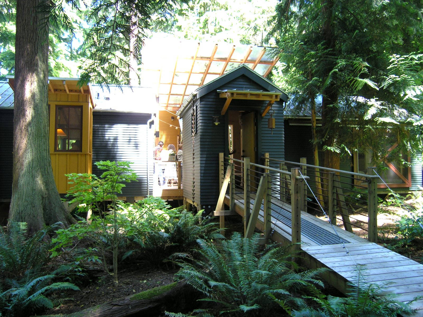 ^ small house compound on Whidbey Island Small House Bliss