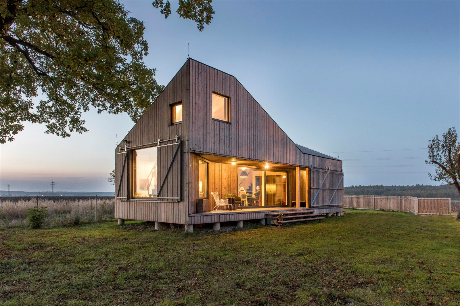 Gallery A small energy efficient house with a folded roof ASGK