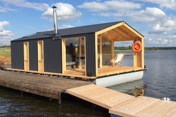 Terrific Dubldom A Modular Tiny House From Russia Bio Architects Small Largest Home Design Picture Inspirations Pitcheantrous