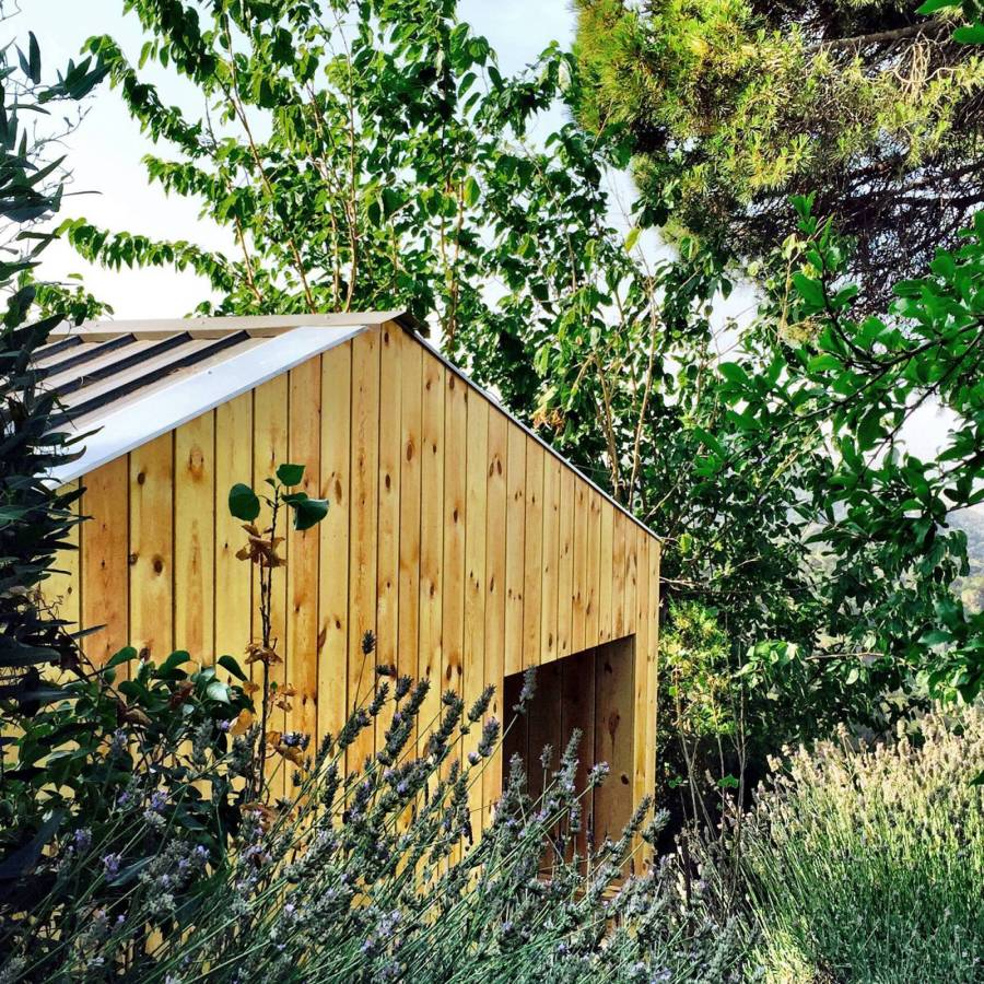 Wood studio house dom arquitectura small house bliss - Tiny house espana ...