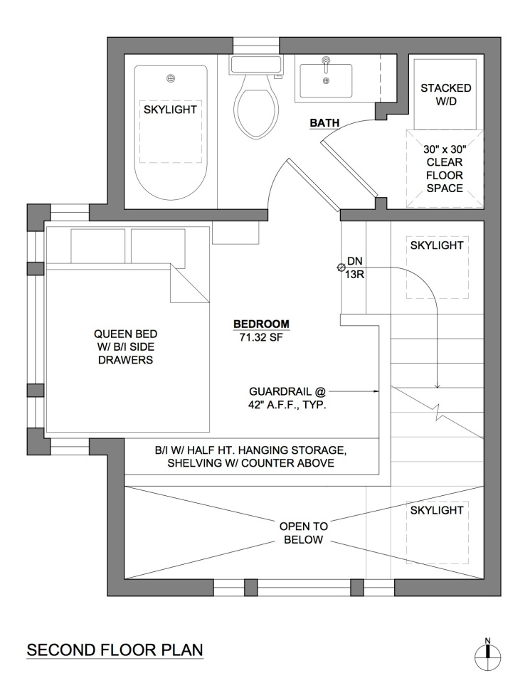 Gallery compact guest cottage in portland dyer studio for Tiny house payment plan
