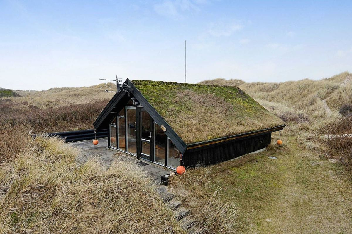 Tiny Sod Roofed House In Denmark Small House Bliss