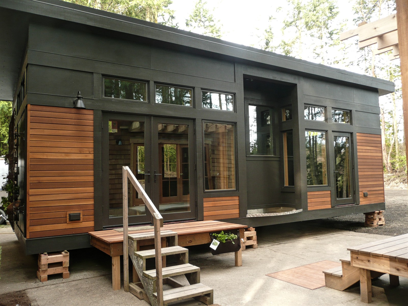 The Waterhaus, A Tiny Sustainable Prefab Home | GreenPod | Small House Bliss