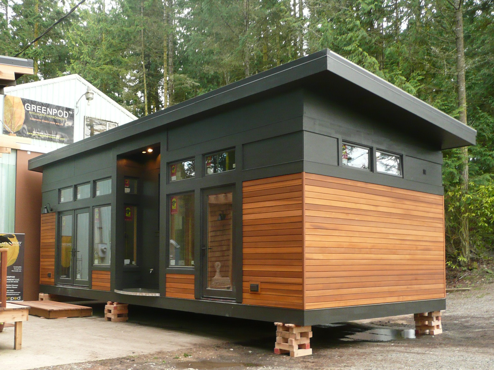 published november 15 2015 at 1600 1200 in the waterhaus a tiny sustainable prefab - Prefab Tiny House