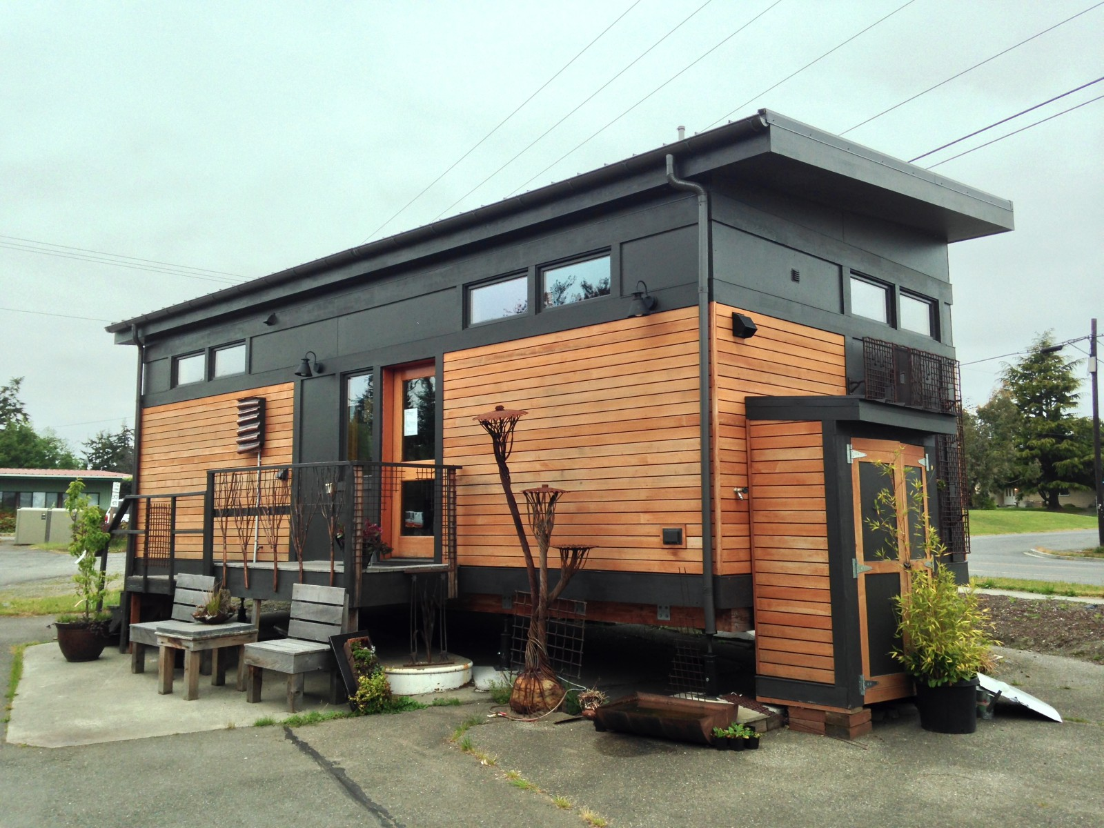 Gallery The Waterhaus a tiny sustainable prefab