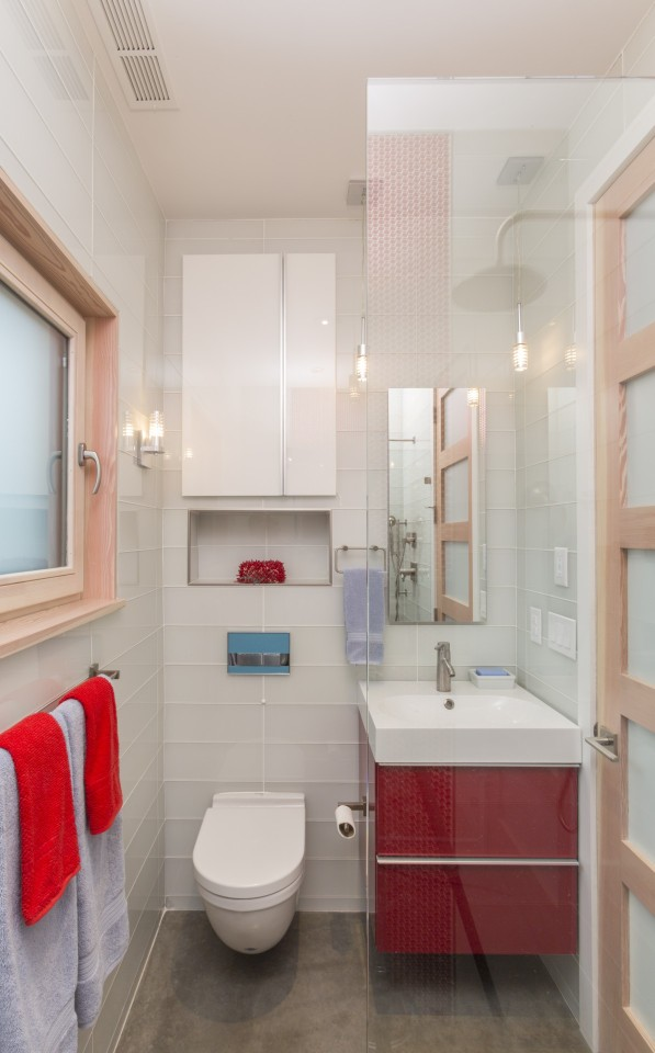 The Butcherknife Residence, an artist's modern energy-efficient home with 2 bedrooms + art studio in 1200 sqft.   www.facebook.com/SmallHouseBliss
