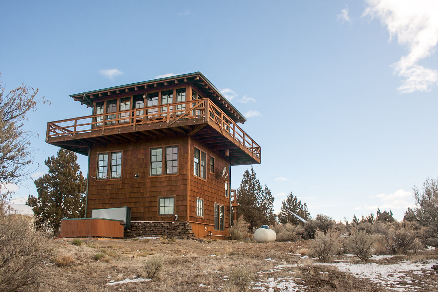 Gallery forest fire lookout tower house small house bliss for Fire tower plans