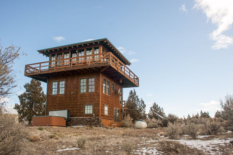 Gallery forest fire lookout tower house small house bliss for The lookout tiny house