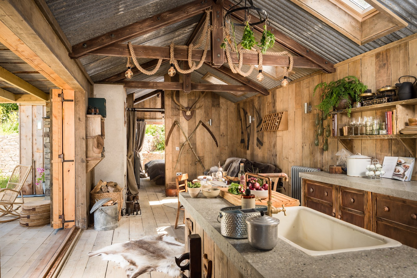 Gallery The Rustic And Romantic Firefly Cabin Small