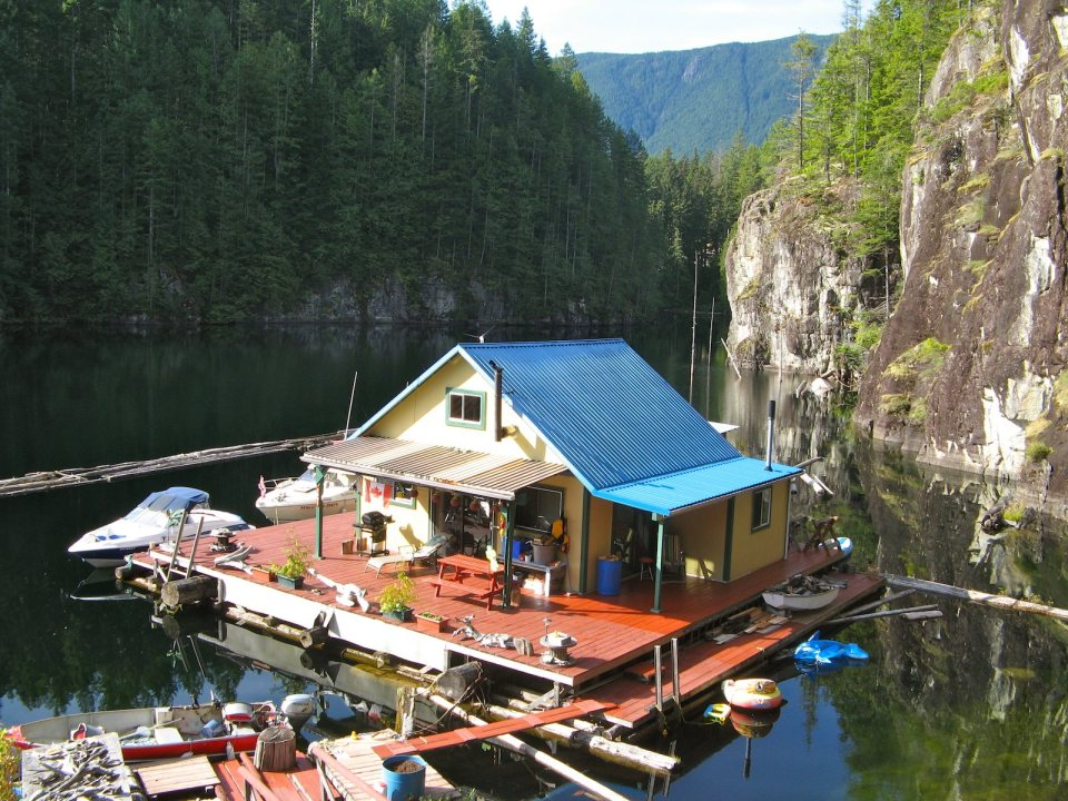 up the lake and off the grid small house bliss